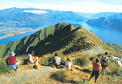 Mount Roy overlooking Lake Wanaka